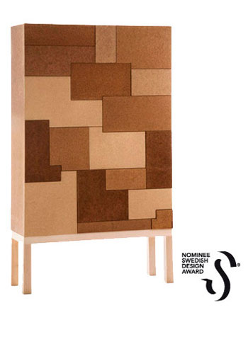Chest with 18 drawers is nominated to Swedish Design Award